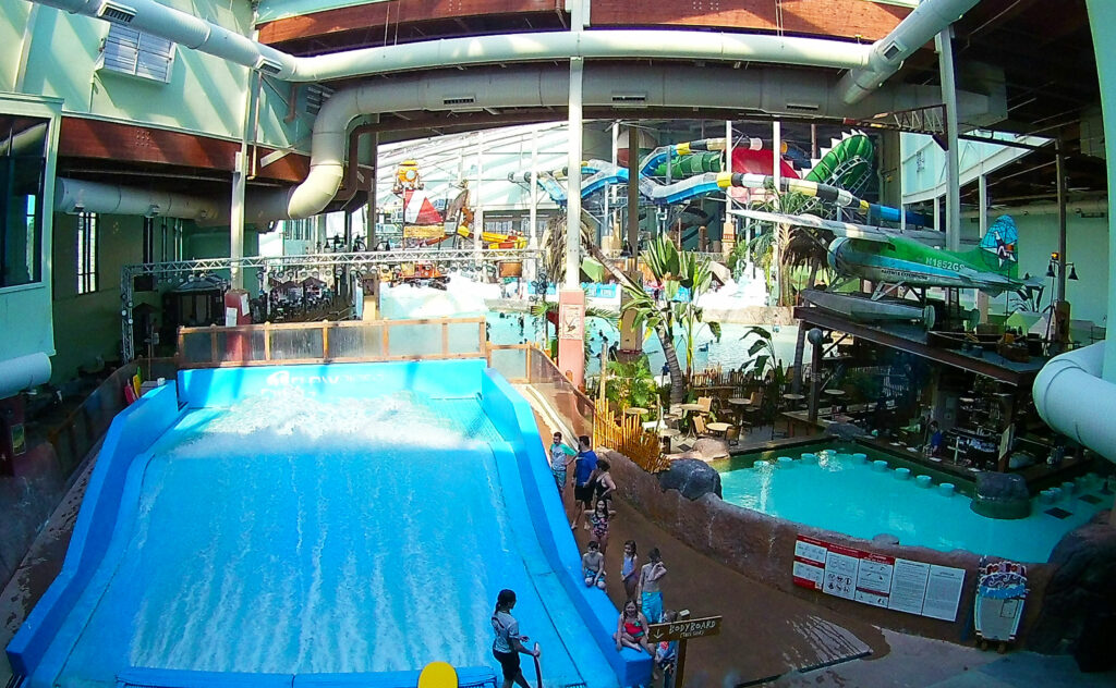 Overview of Camel Beach Waterpark