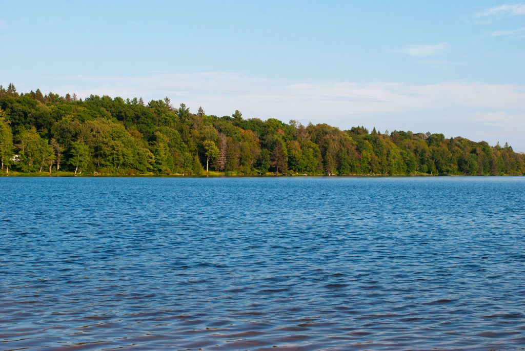 The Lake at Promised Land State Park