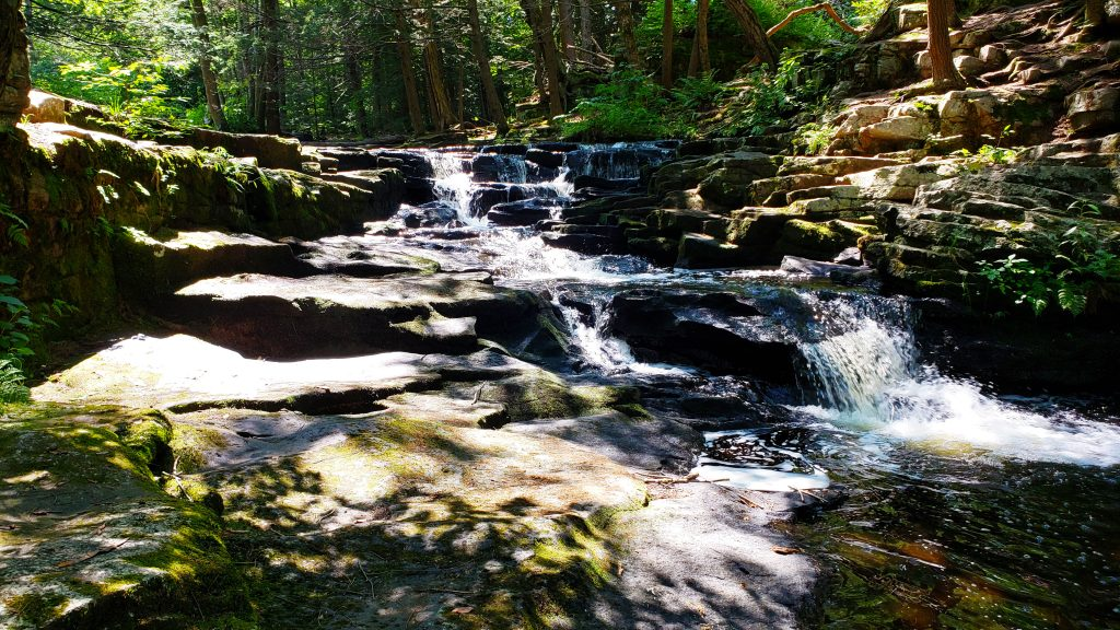 Waterfalls on a Hike at Promised Land State Park